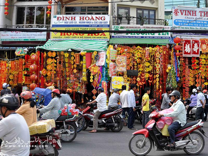 محله چینیها پر از رنگ است. اینجا شانسش را دارید تا با از نزدیک با فرهنگ مردم چین آشنا شوید.