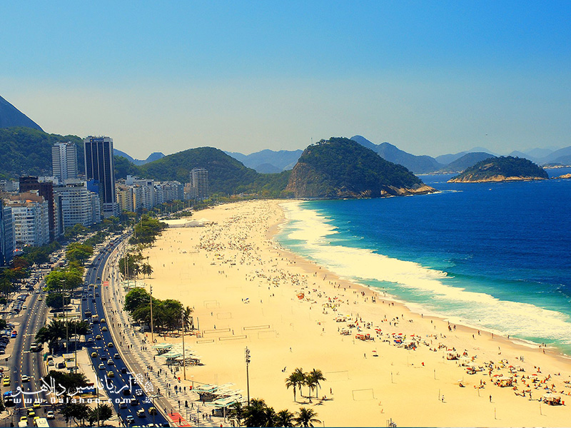 ریو دوژانیرو با سواحل شنی و جاذبههای بیشمار یکی از رویاییترین شهرهای جهان برای عاشقان سفر است.