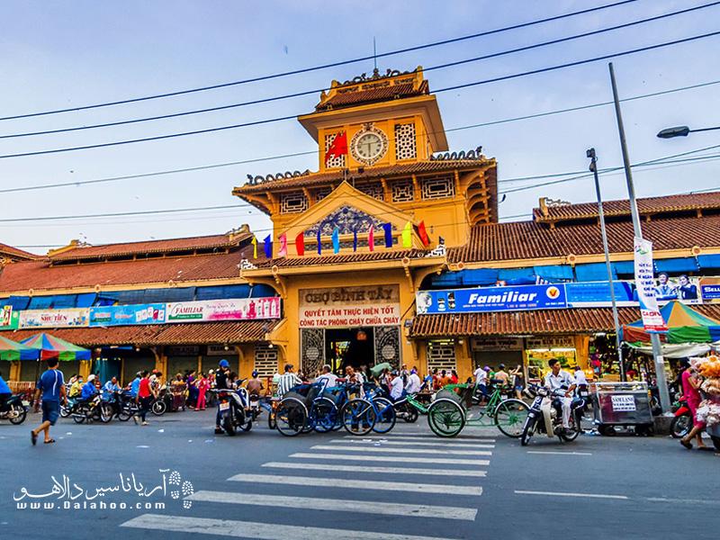 محله چینیها(Cholon) در شهر سایگون بزرگترین محله چینیها در کل ویتنام است.
