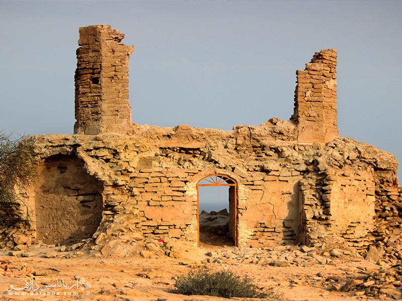 یکی از مناطق دیدنی چابهار، قلعه پرتقالیهاست.