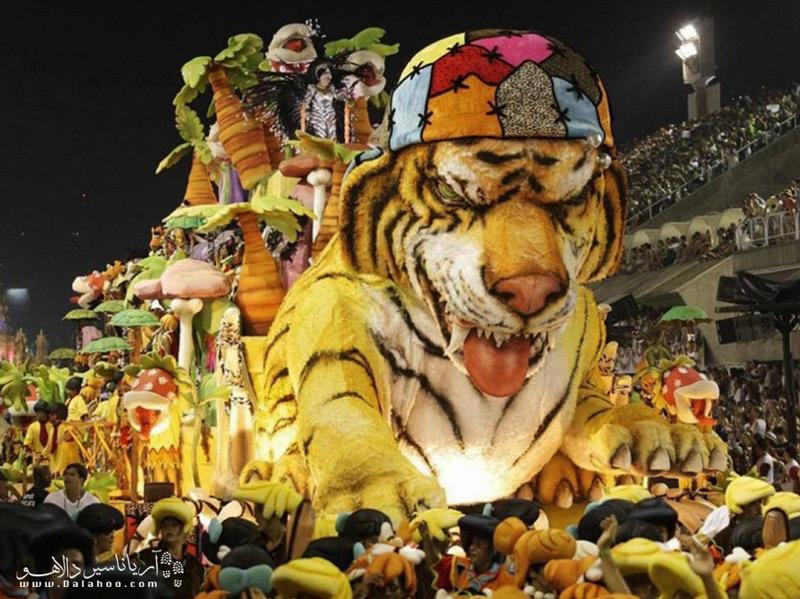 کارناوال ریودوژانیرو، بیشک مهمترین رویداد این شهر است