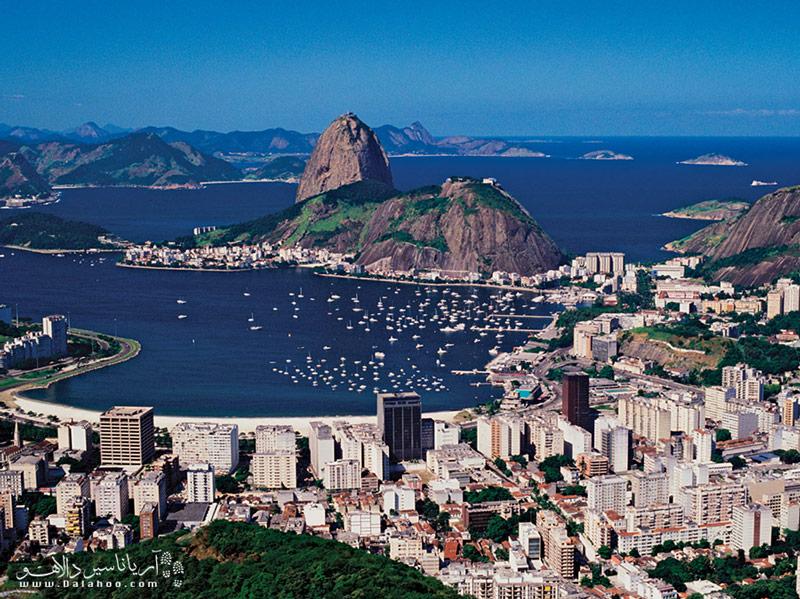 نمای کلی شهر ریو دوژانیرو
