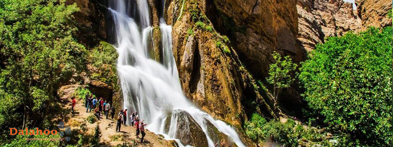 Lorestan province is mainly famous for its waterfalls
