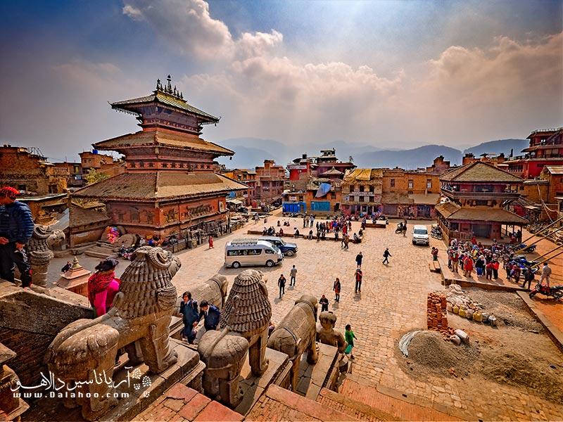 کاتماندوقلب نپال است.