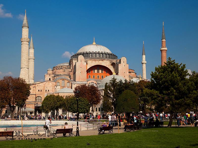 محله سلطان احمد یکی از محلههای خوب استانبول برای زندگی است