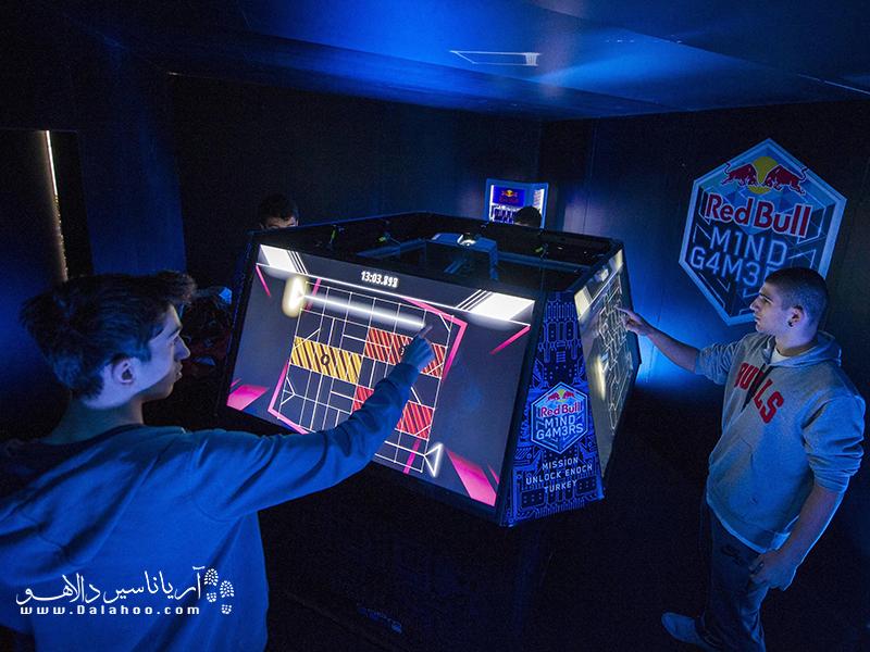 نمایشگاه بازیهای دیجیتال ترکیه.