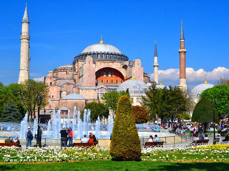 ایاصوفیه ارزشمندترین گنج ترکیه است.