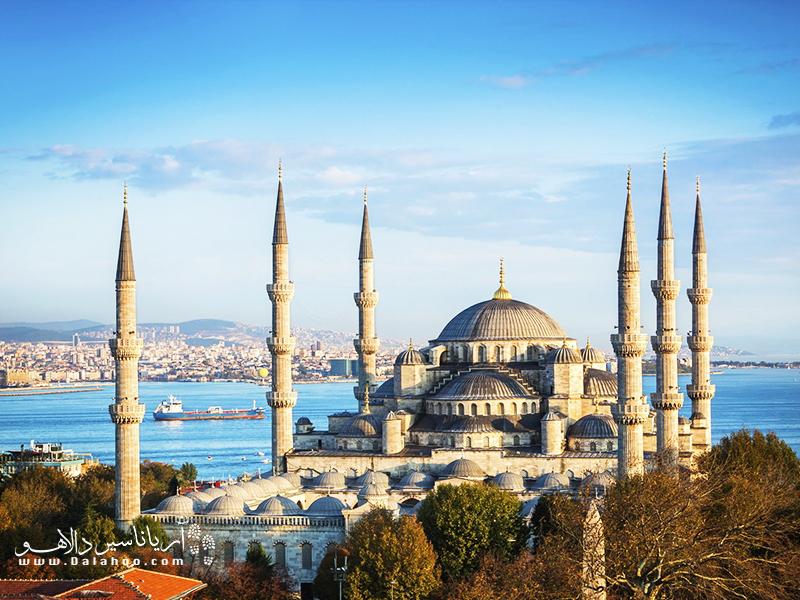 مسجد سلطان احمد استانبول.