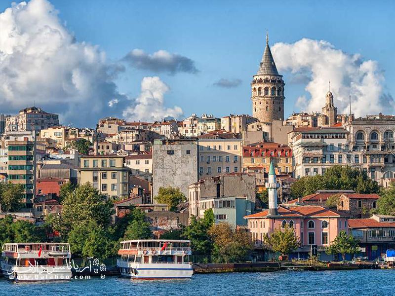 محله بی اغلو استانبول در قسمت اروپایی استانبول واقع شده و فضای مدرن و اروپایی آن همواره مورد توجه گردشگران است.