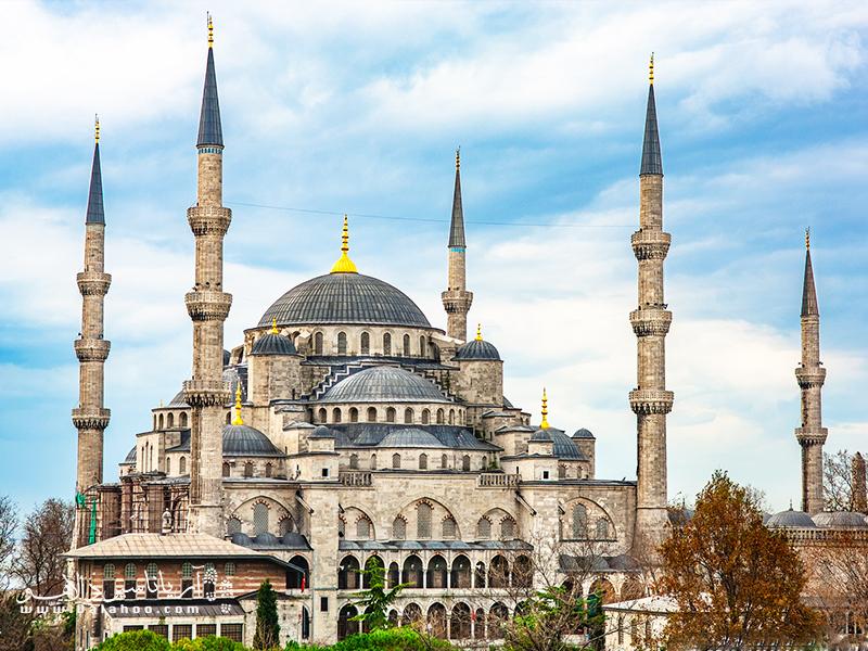 مسجد آبی، یکی از زیباترین مساجد استانبول است.