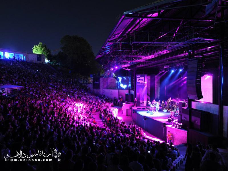 فستیوال موسیقی جَز در استانبول.