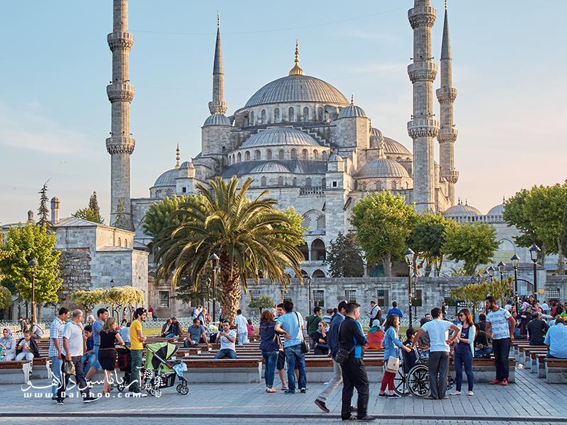 استانبول یکی از ده مقصد برتر گردشگری جهان است.