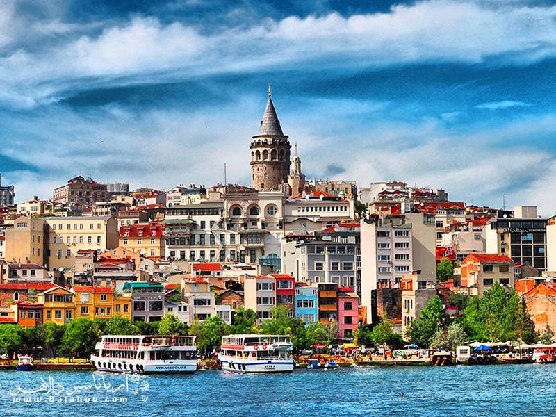 استانبول شهر محبوب گردشگران.