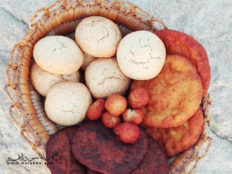 مالوکی یک نوع شیرینی جنوبی است.