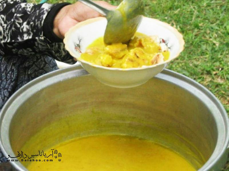 کشک زرد غذای محبوب سیستانی در روزهای سرد سال است.