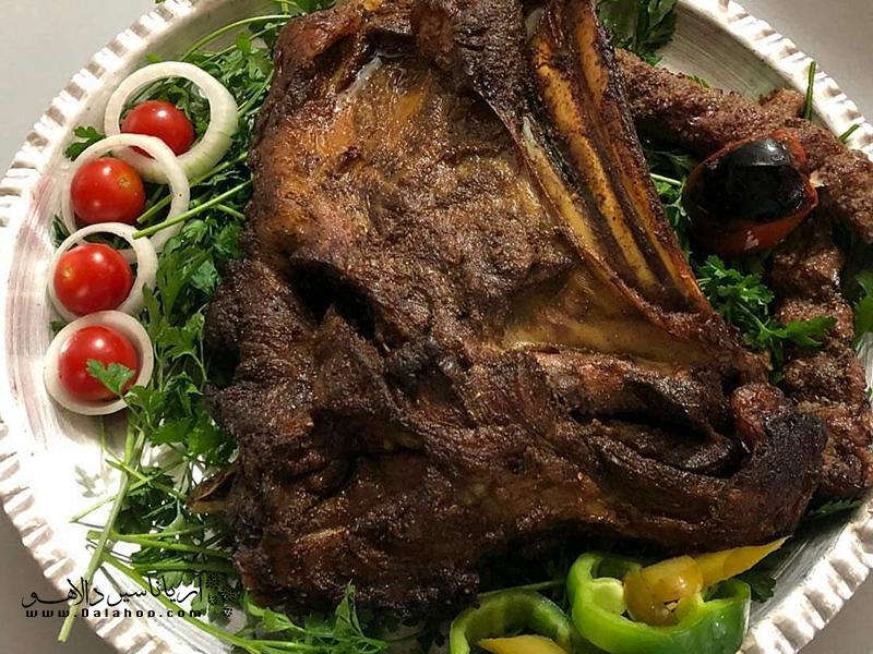 تنورچه نوعی کباب سنتی سیستان و بلوچستان است.
