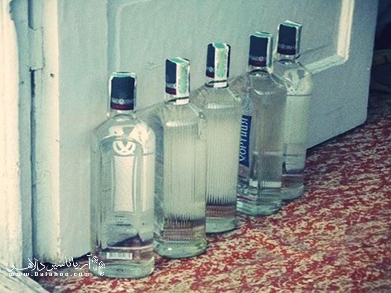 سرنوشت بطریهای خالی در روسیه.