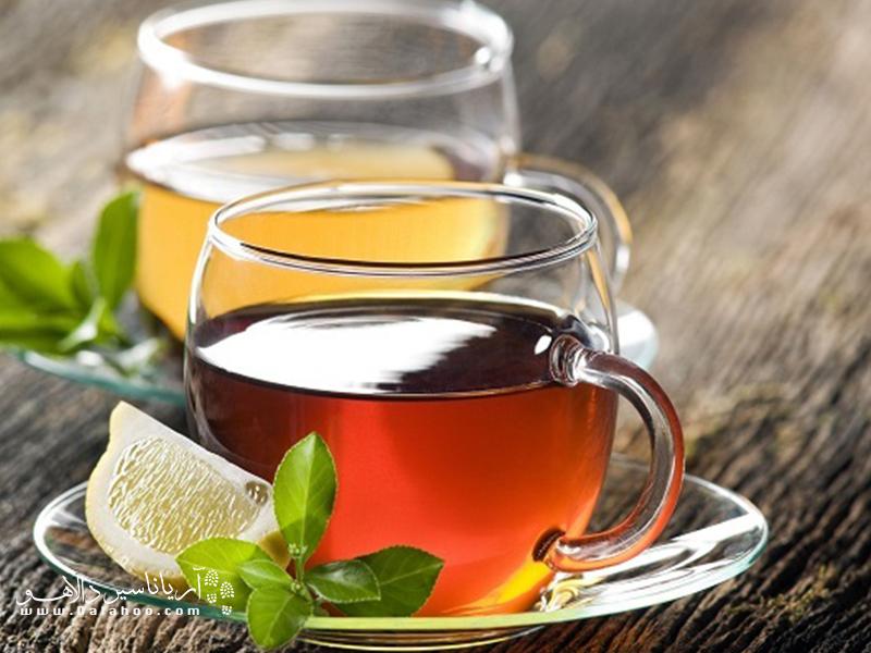 در قزاقستان چای نصفه بنوشید.