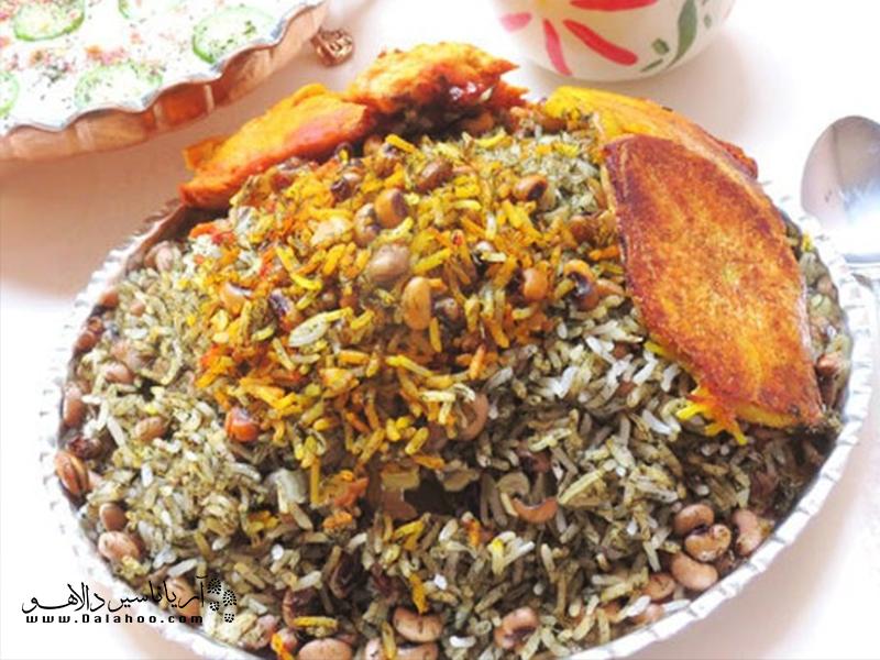 لوبیا پلوی شیرازی با لوبیا پلویی که تا به حال خوردهاید فرق دارد.