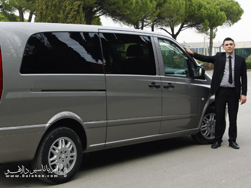 ترنسفر با خودروی اختصاصی در استانبول.