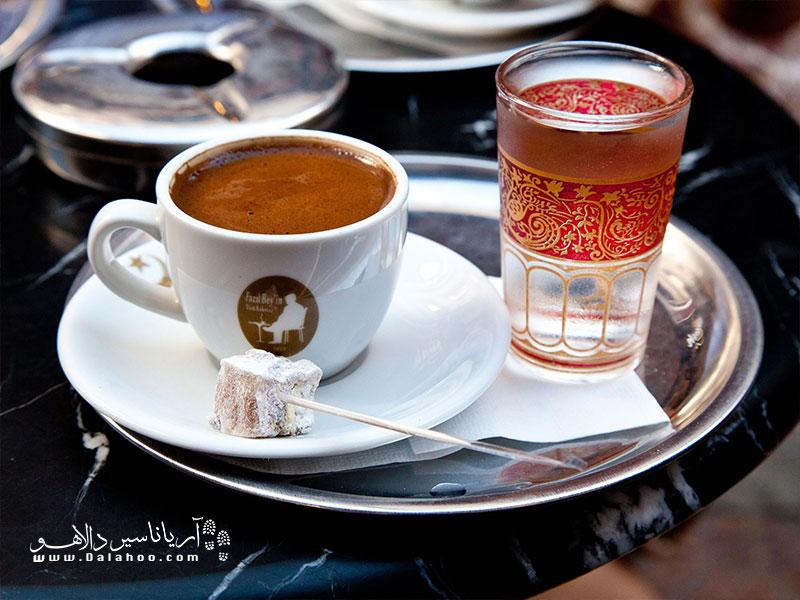 عطر قهوه ترک  سرمستتان خواهد کرد.