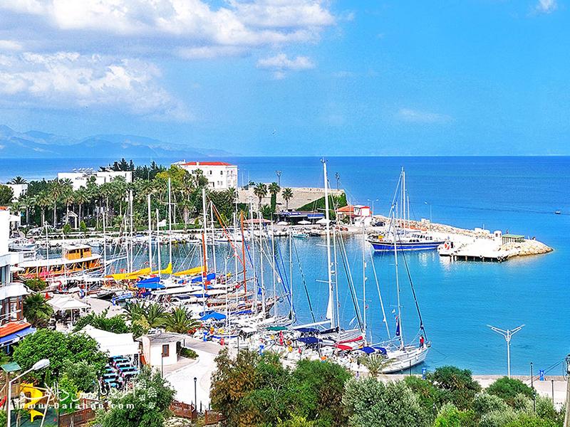 داتچا و بوزبورون بین دریای اژه و دریای مدیترانه یک مرز دیدنی ایجاد کردهاند.