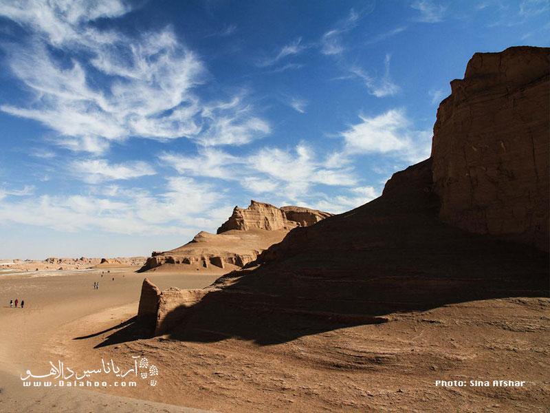 کلوت شهداد کرمان شاهکاری است از باد، خاک و آب.