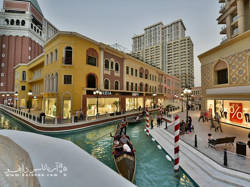 مرکز خرید ونیزیا اوتلت برای هر قشری خدمات ارائه میکند.