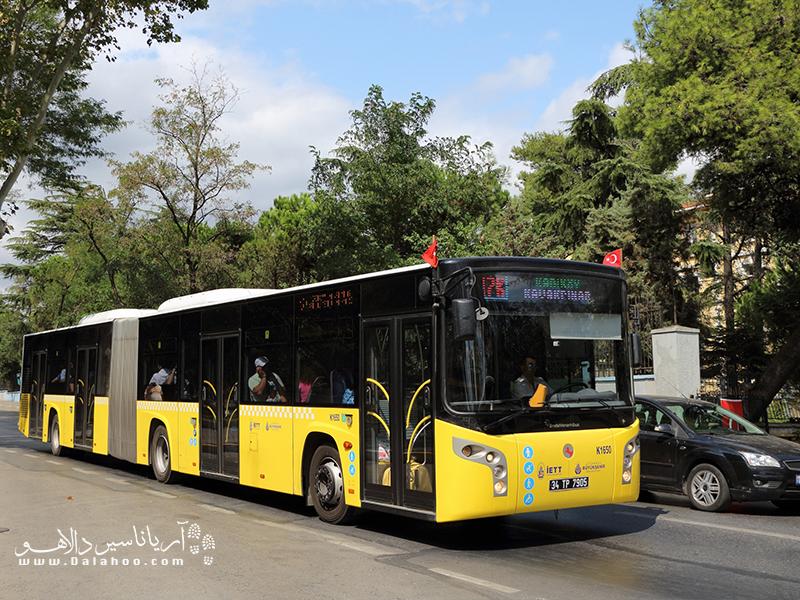 اتوبوسهای ترکیه به طور کلی کیفیت خوبی دارند.