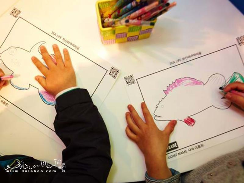 ماهی دلخواهتان را نقاشی کنید تا در آکواریوم دیجیتالی جان بگیرد!