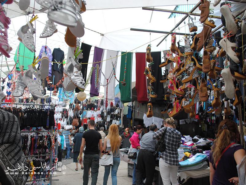 شنبه بازار باکرکوی یکی از بازارهای محلی معروف استانبول است.