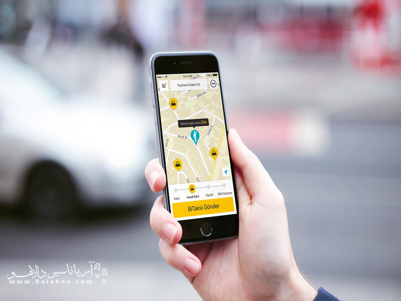بی تاکسی، اپلیکیشن ماشینیابی در استانبول و آنکاراست که شما را در یافتن تاکسی با قیمت مناسب یاری میکند.