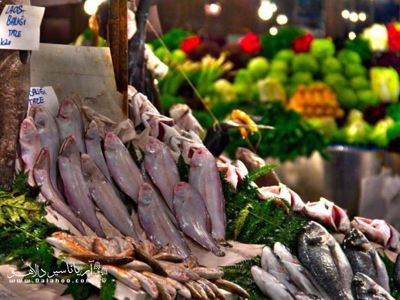 بازارهای محلی استانبول.