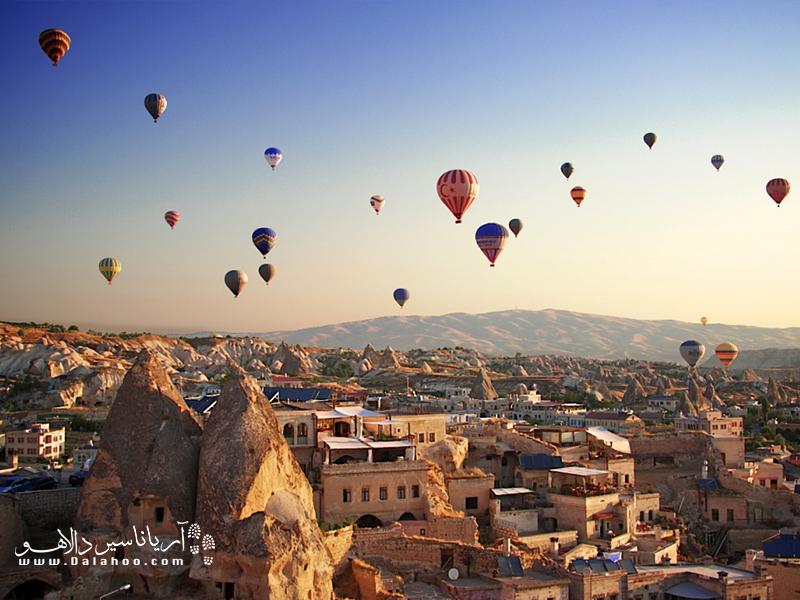 کاپادوکیه شهر بزرگ و باستانی در آناتولی مرکزی ترکیه است.