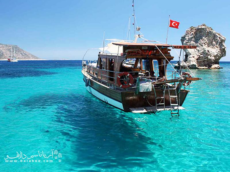 کالکان  تا سال ۱۹۲۰ به عنوان یک جزیره ماهیگیری یونانی شناخته شده بود.