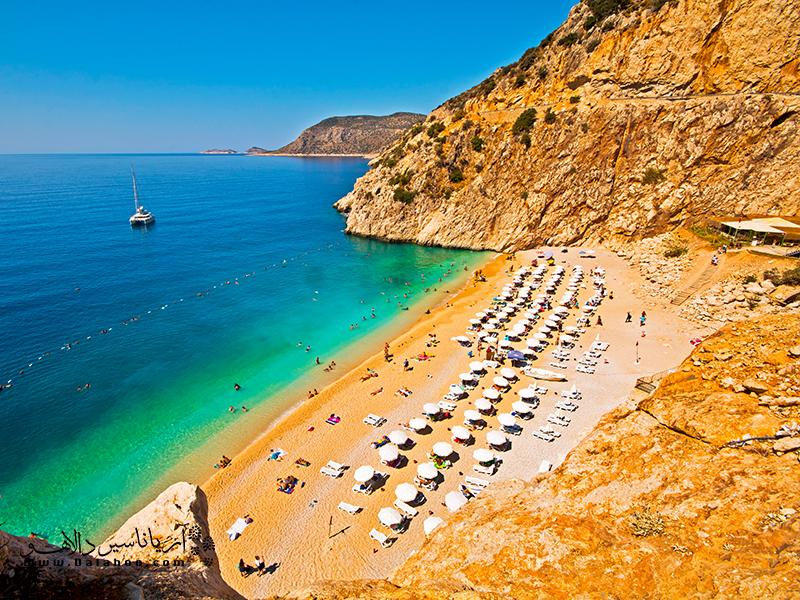 آنتالیا یکی از معروفترین مناطق توریستی ترکیه است.
