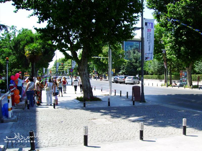باگات کادسی در بخش آسیایی استانبول واقع شده و یکی از خیابان های معروف استانبول است.