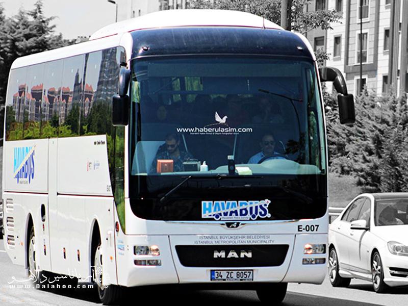 یکی از گزینههای رفت و آمد ارزان از فرودگاه صبیحه به مرکز شهر استفاده از خطوط این اتوبوسهای فرودگاه است.