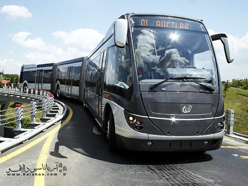 متروباسهای استانبول 24 ساعته فعال هستند.