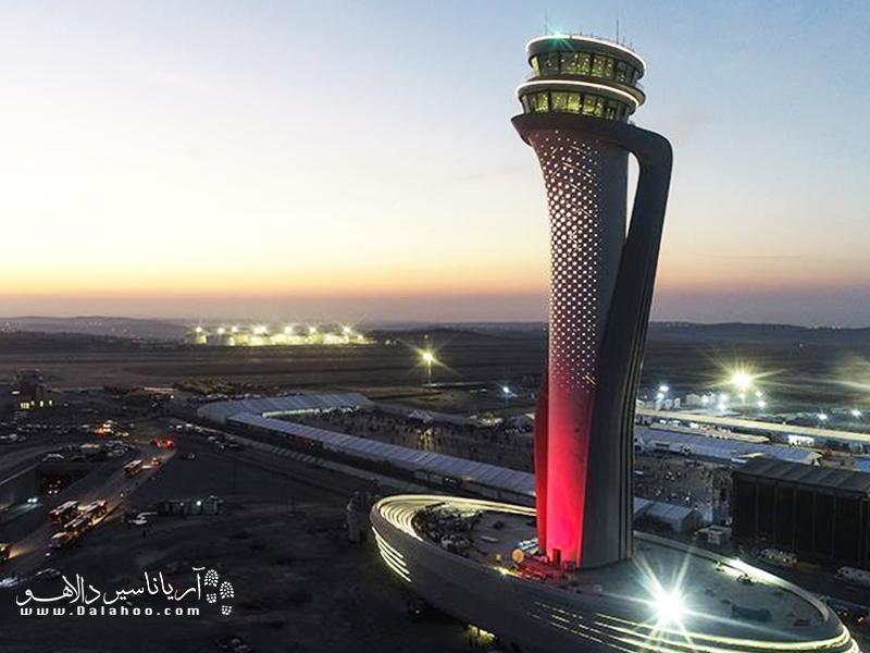 فرودگاه جدید استانبول در بخش اروپایی قرار دارد.