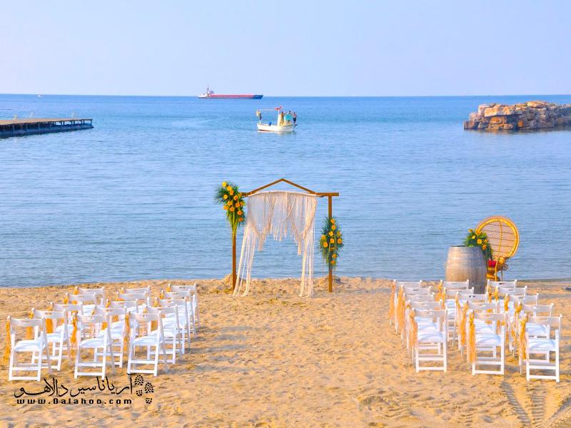ساحل اوزن به یکی از سواحل توریستی محبوب در بین گردشگران تبدیل شده.
