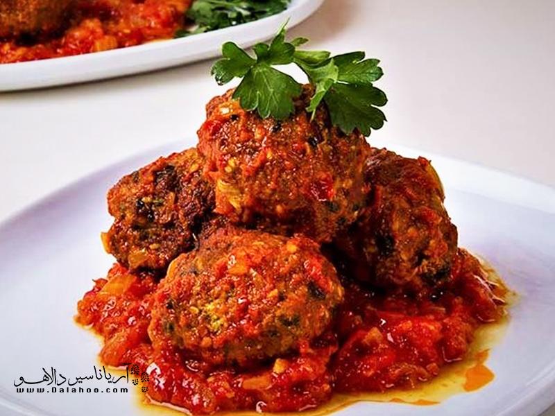 راز خوشمزگی شامی رودبار استفاده از سبزیهای معطر است.
