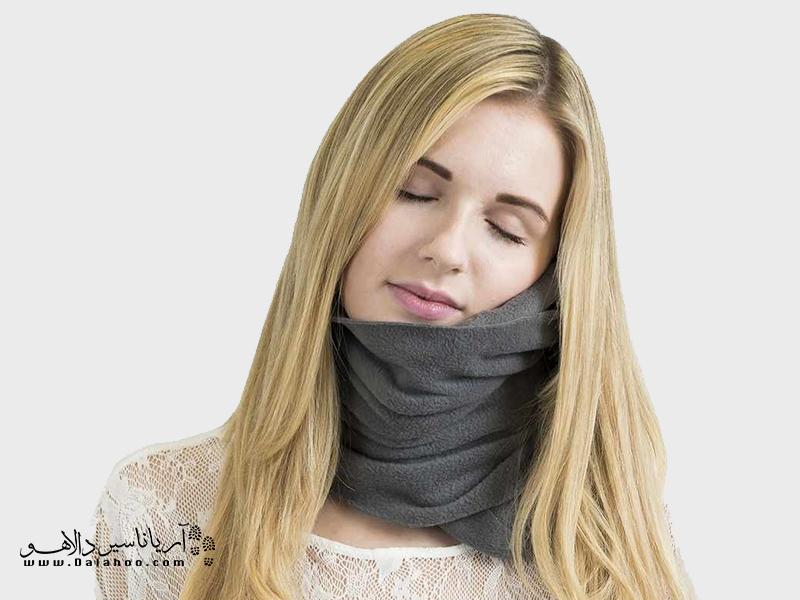 شالگردنی که گردن شما را در آغوش میگیرد.
