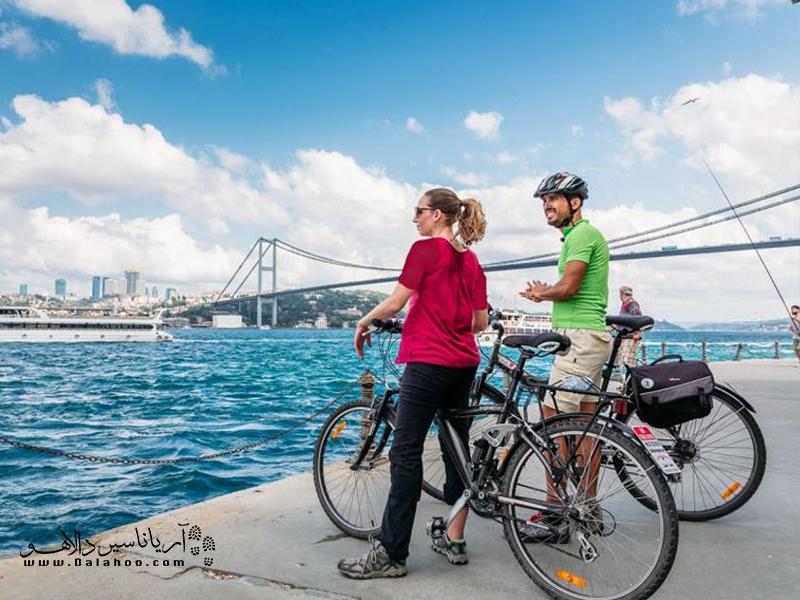 دوچرخه سواری، راهی برای سفری ارزان و سبز.