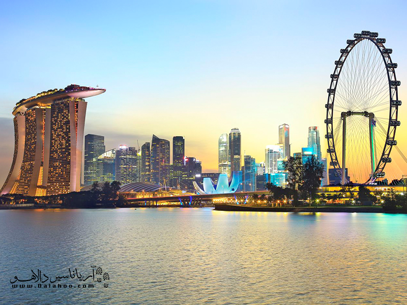 نمایی از سنگاپور.