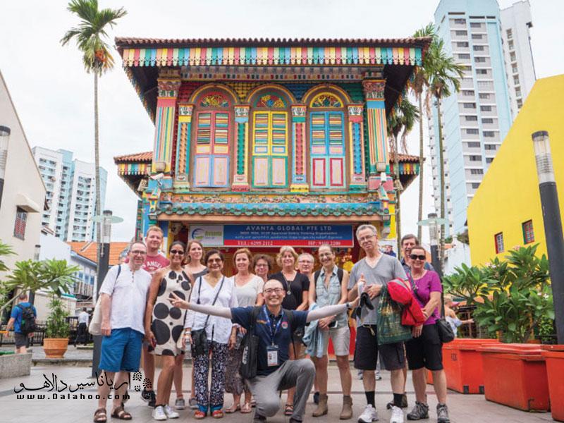 محله هندیها در سنگاپور.