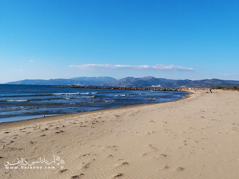 سواحل ازمیر، همیشه پر از آرامش است.