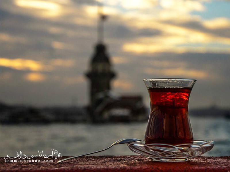اصطلاحاتی جالبی در بین ترکها در مورد توصیف چای خوش رنگ وجود دارد.