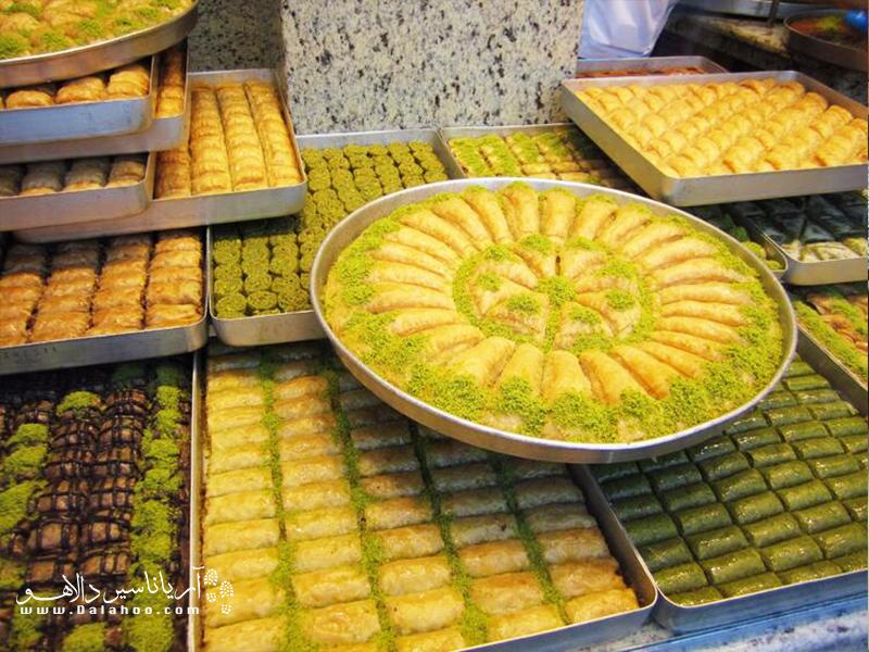 تاتلیچیها در ترکیه مخصوص دسر هستند.