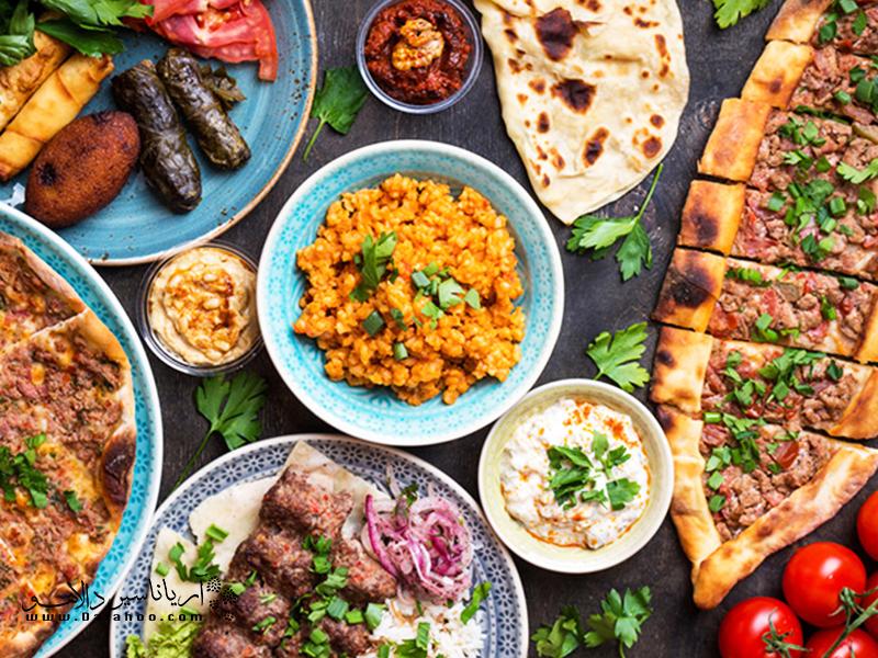 غذاهای خوشمزه ترکی را از دست ندهید.